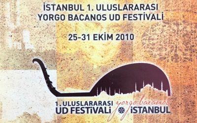 1ST International Yorgo Bacanos Oud Festival of Istanbul