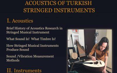The Acoustics of Turkish Stringed Instruments – Escola Superior de Musica de Lisboa